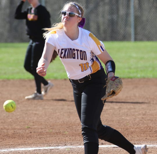 Lexington's Jillian Bammann is ready to make up for lost time as the ace pitcher of Lady Lex in 2021.