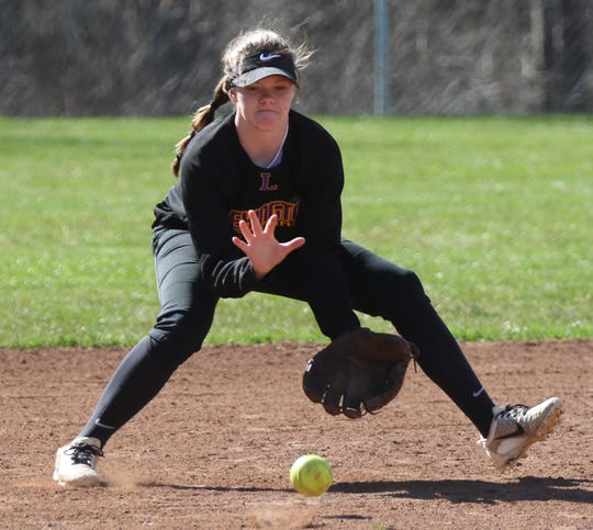 Lexington's Lili Mattia will be looking for a great senior season in softball when she is able to return to the diamond.