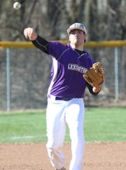 Lexington's Ben Vore had two hits in a big OCC win over Wooster on Monday.