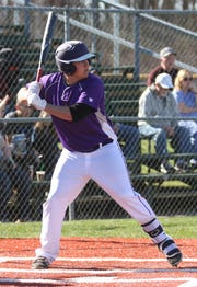 Lexington's Kevan grimm had a 4-hit day against Madison and leads the team in batting average at better than .500.