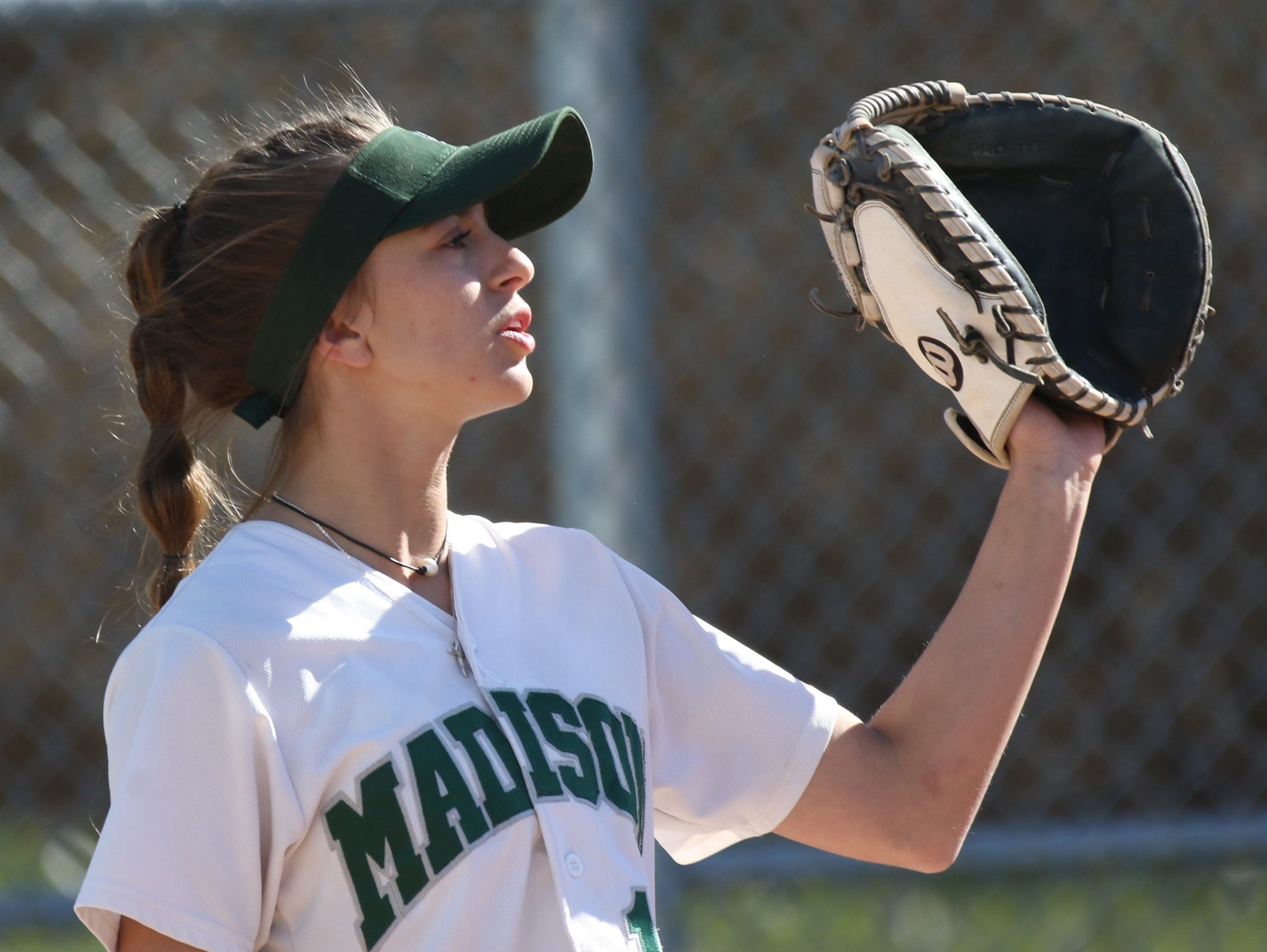 Madison's Leah Boggs led the Lady Rams to a 12-2 win over Lexington on Tuesday evening.
