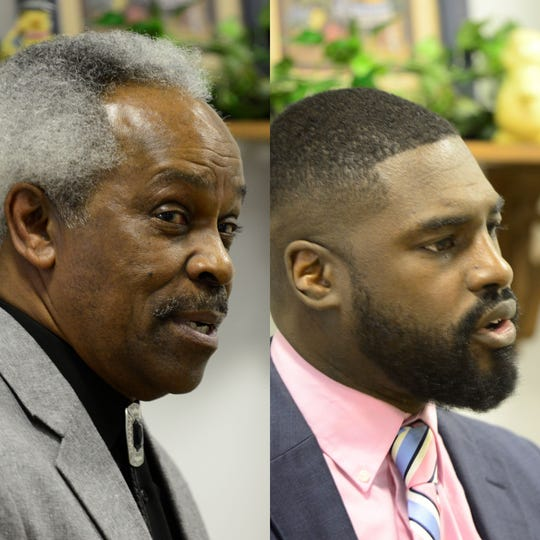 "Walden ""Butch"" Jefferson (left) and Alomar Davenport are the Democratic candidates running for Mansfield City Council's fourth ward seat in the May primary."