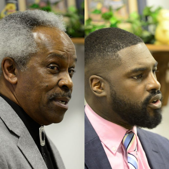 """Walden """"Butch"""" Jefferson (left) and Alomar Davenport are the Democratic candidates running for Mansfield City Council's fourth ward seat in the May primary."""