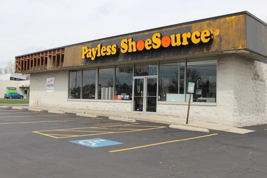 Payless ShoeSource in Marion was included in the first round of closures since the discount shoe store declared bankruptcy in February.