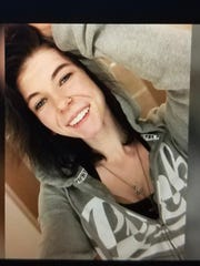 Markenzie Hientz, 21, has been missing since April 5, after she met up with someone from an online dating app, police say.