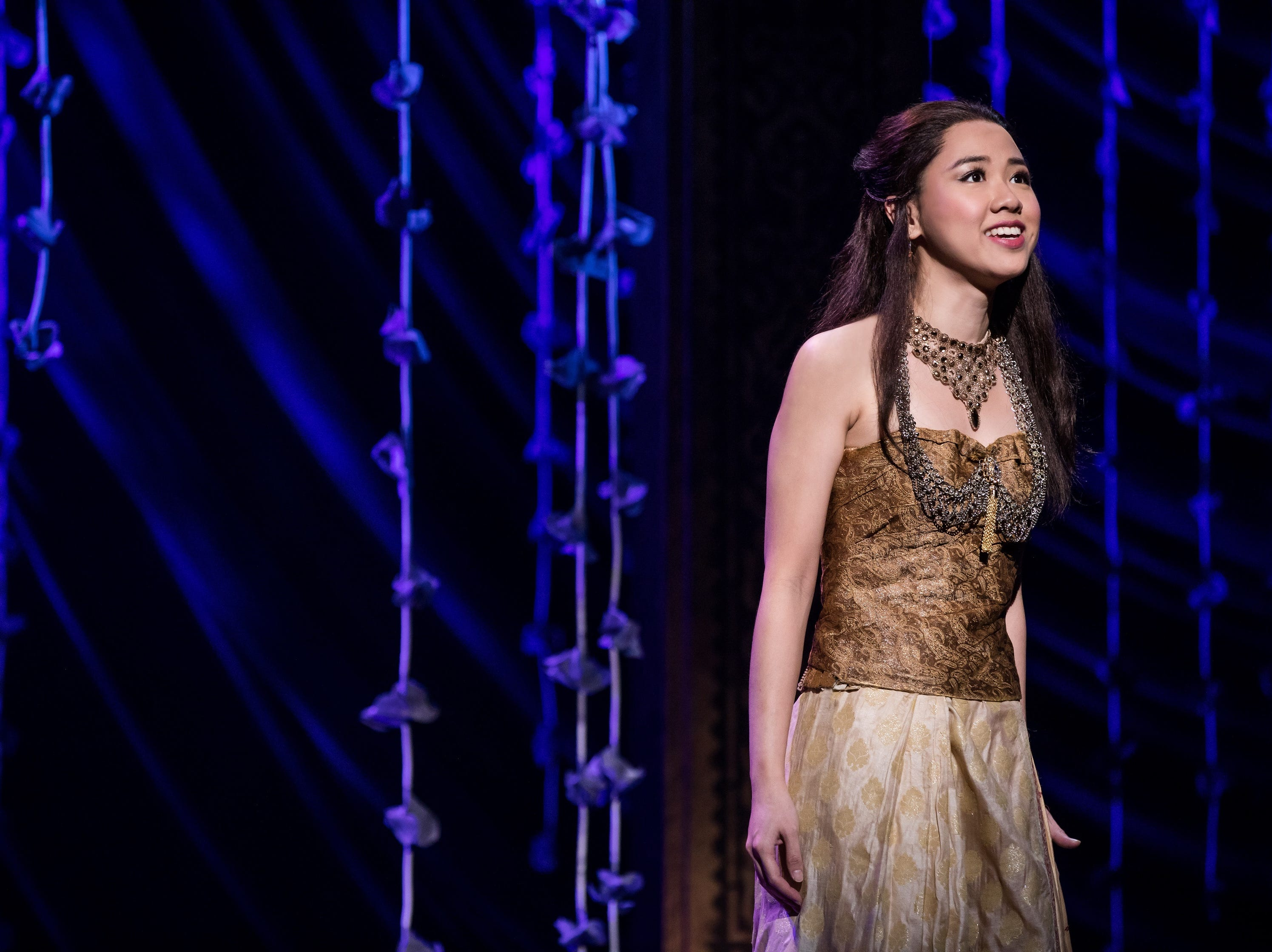"Paulina Yeung sings in the musical ""The King  and I."""