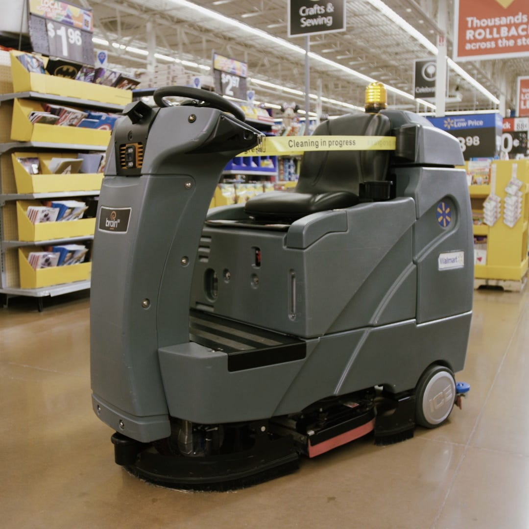 Walmart will bring robot floor scrubbers as part of $60.9 million in upgrades at Wisconsin stores