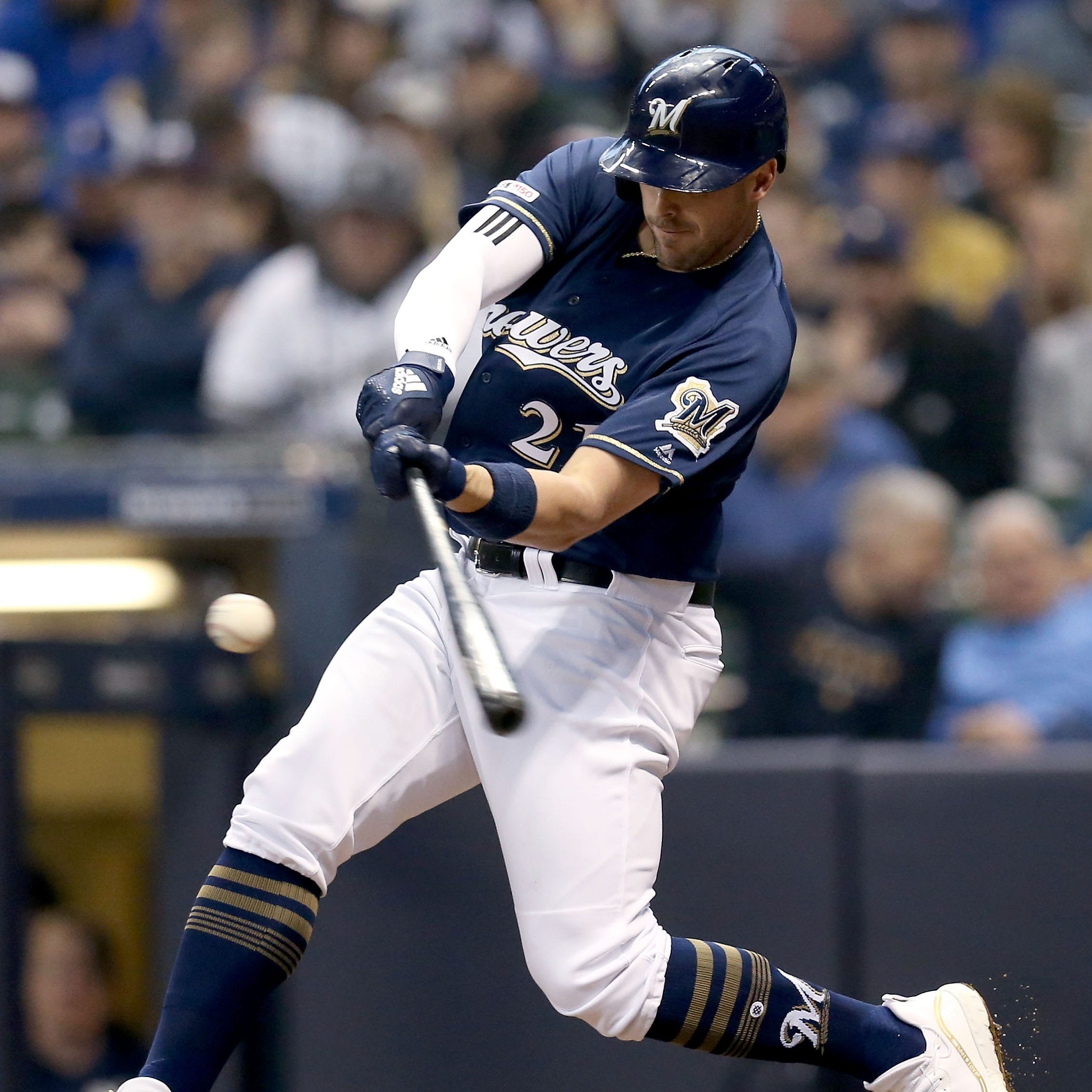 Travis Shaw, Jesús Aguilar look to shake out of offensive doldrums in middle of Brewers lineup
