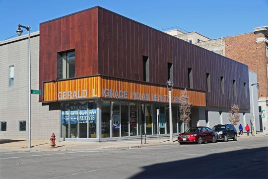 The Gerald L. Ignace Indian Health Center is located in a renovated building at 930 West Historic Mitchell Street that once housed Goldmann's department store.