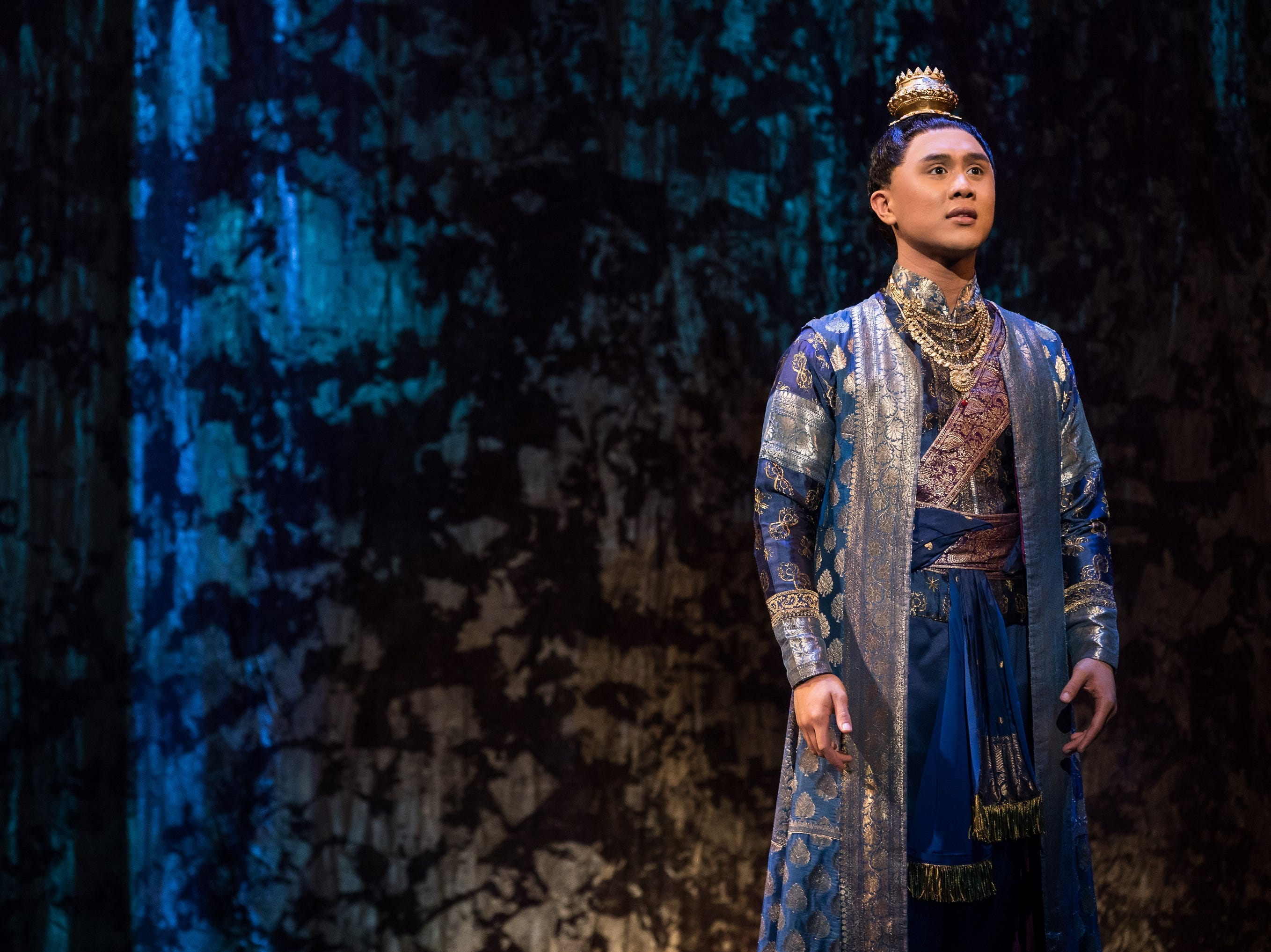 "Timothy Matthew Flores performs  in the musical ""The King and I."""