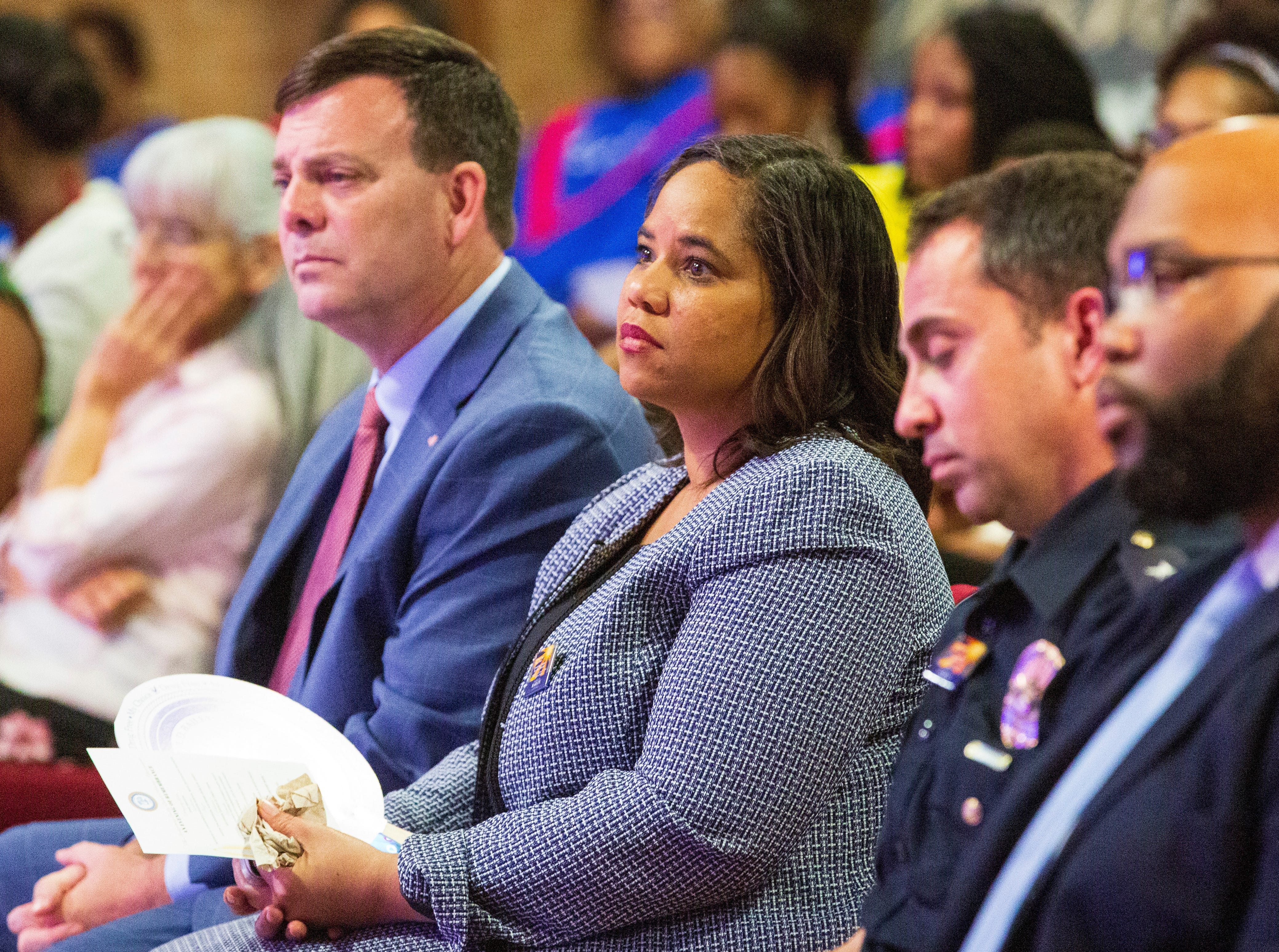 Hundreds gathered at Southside Church of Christ to remember victims of homicide in Montgomery.