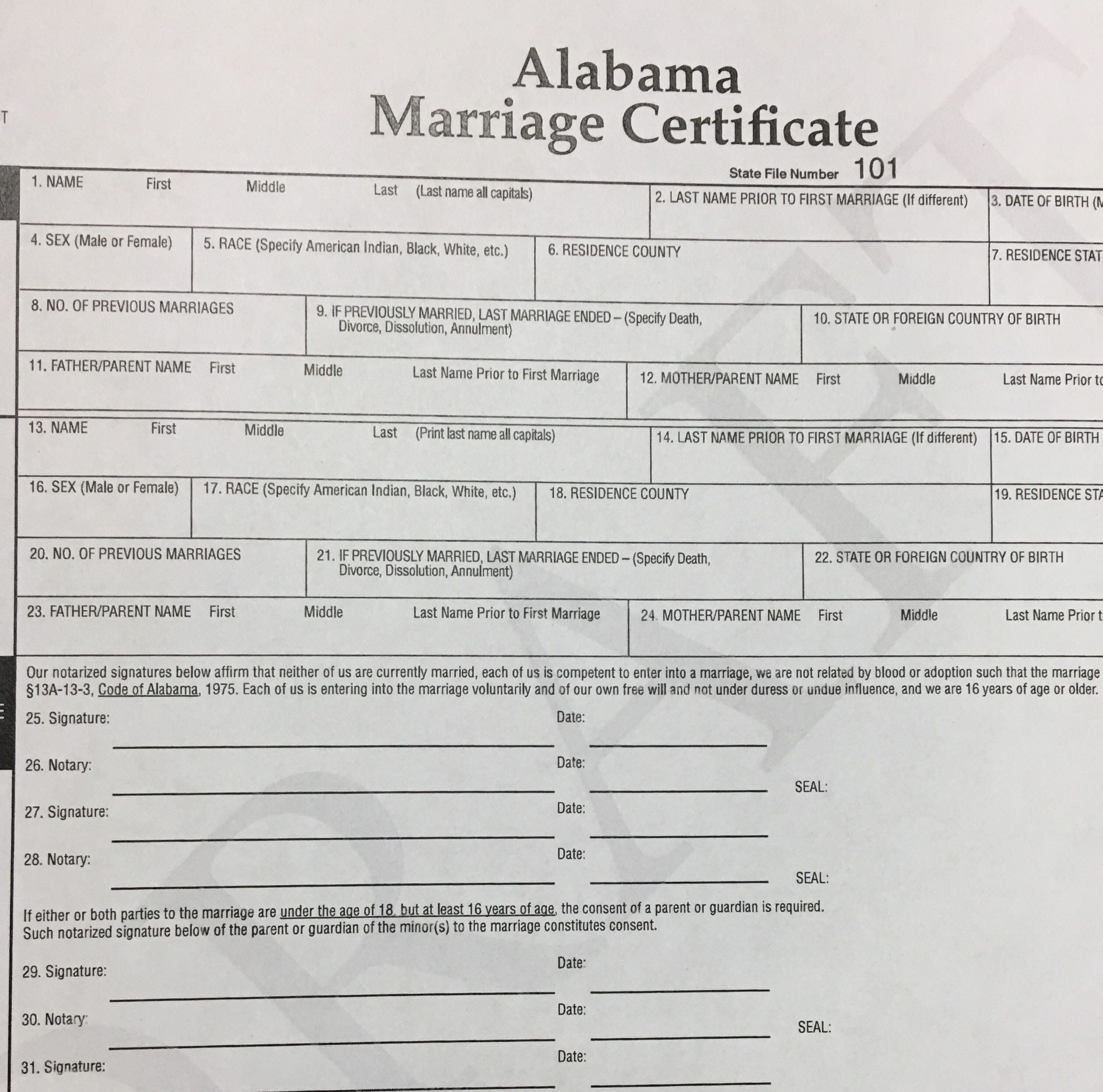 House committee approves bill ending marriage licenses in Alabama