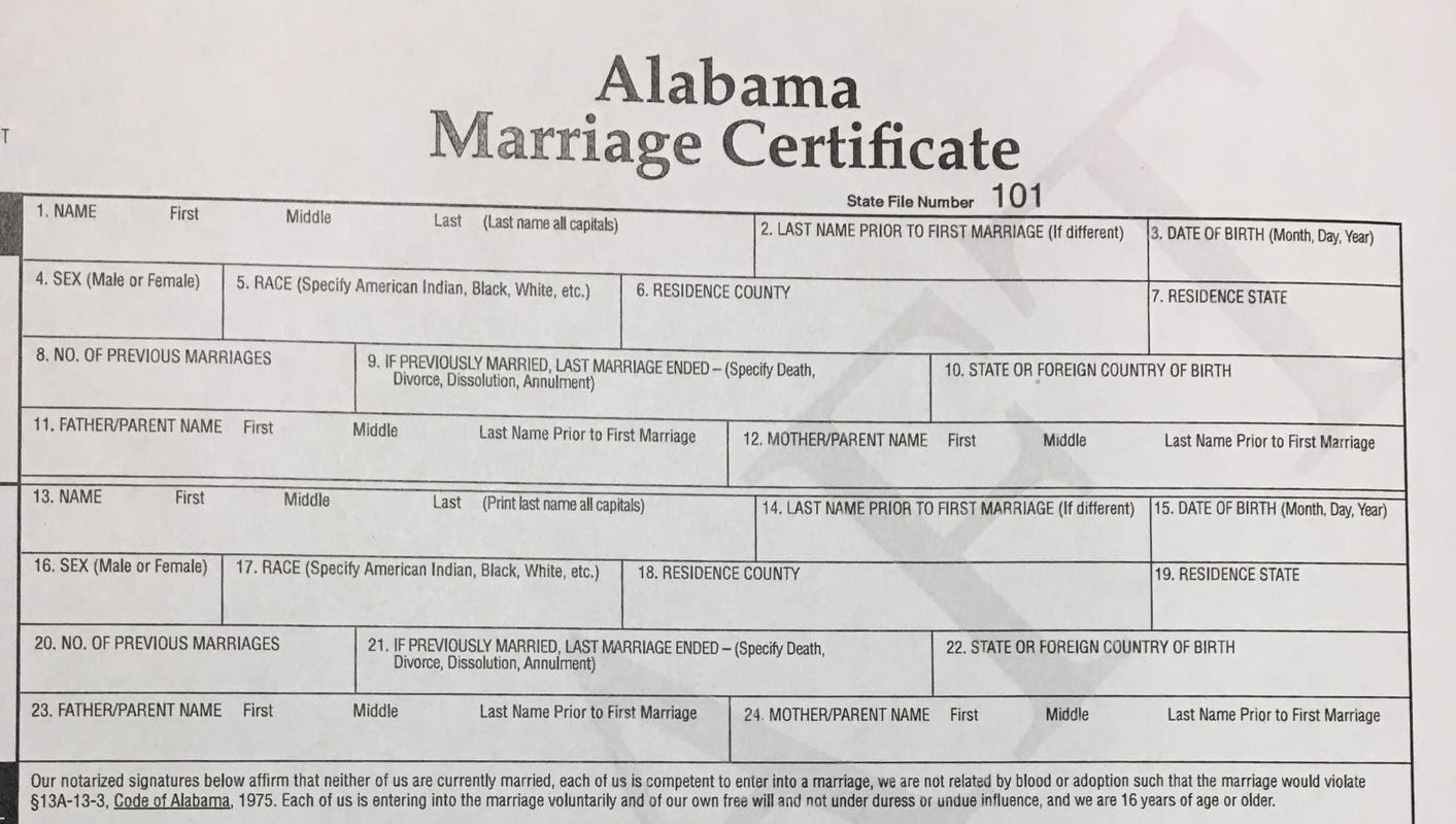 Getting married in Alabama? Changes coming to the process that you need to know