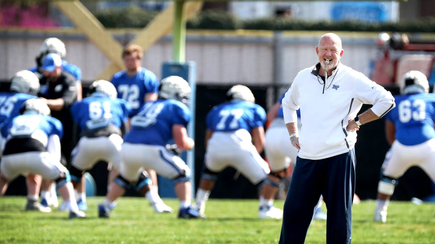 Mtsu Spring 2020 Schedule.Mtsu Football Three Things To Watch During The Spring Finale