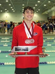 Oakland swimmer Joseph Jordan is the DNJ's 2018-19 all-area boys swimmer of the year.