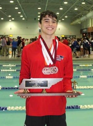 Oakland swimmer Joseph Jordan is the DNJ's 2018-19 all-area boys swimmer of the year.