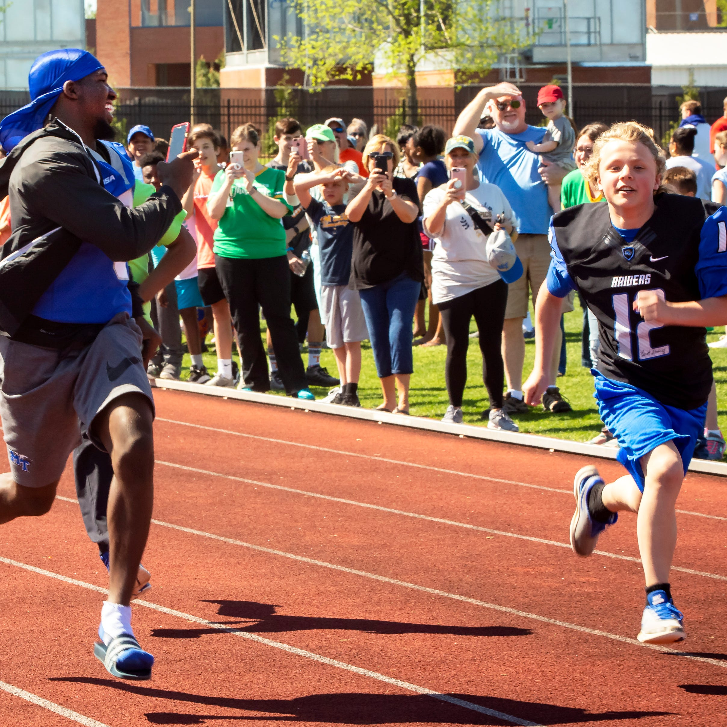 500 athletes from area schools compete in largest Special Olympics in Tennessee
