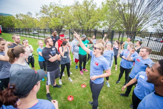 Regional Director and Trainer Liz Laubenberg said Camp Gladiator, an adult outdoor fitness program that started in Texas more than a decade ago, branched out to Nashville last year. This week, Camp Gladiator established itself in Hendersonville.
