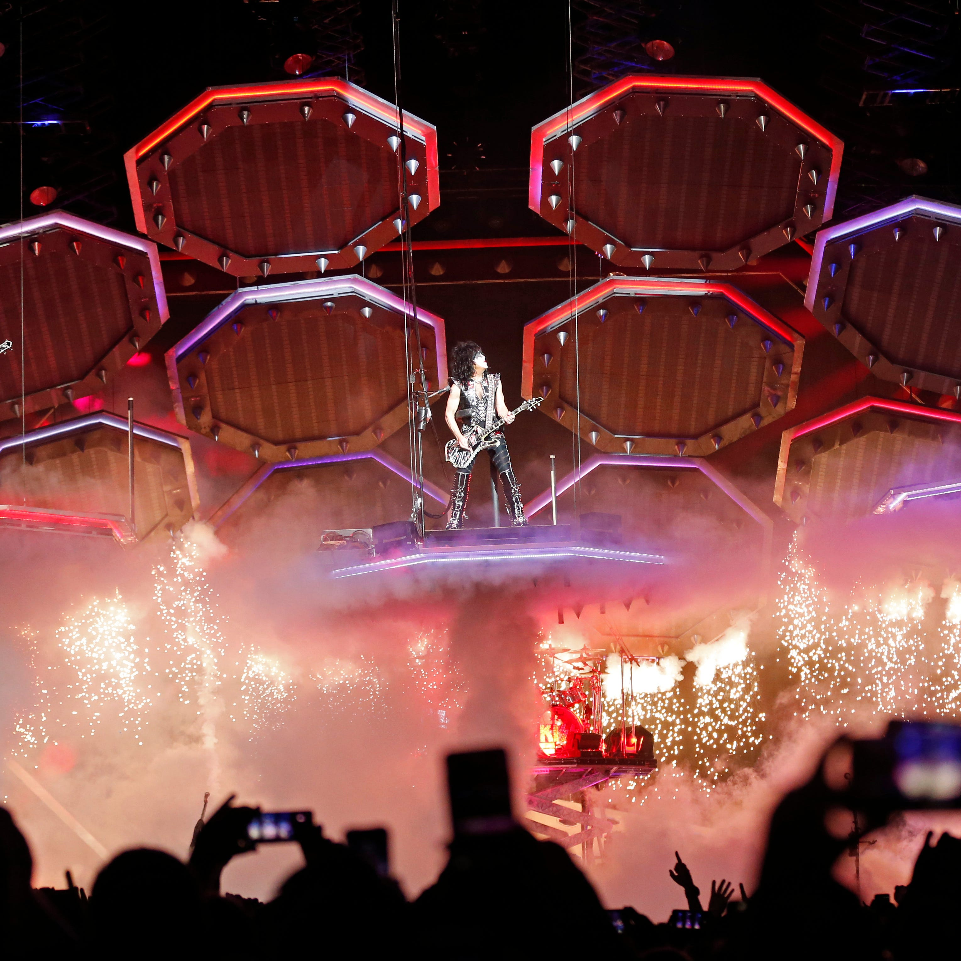 KISS brings a flame-filled 'End of the Road' to Nashville
