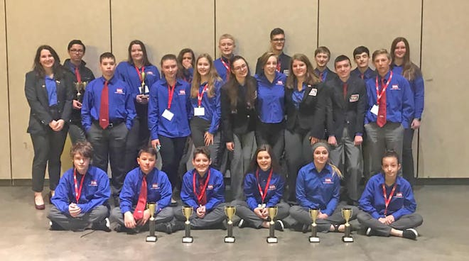 Students from Fairview Middle and High Schools brought home ten trophies from the 41st Annual Technology Student Association State Conference held in Chattanooga April 3-6, 2019.