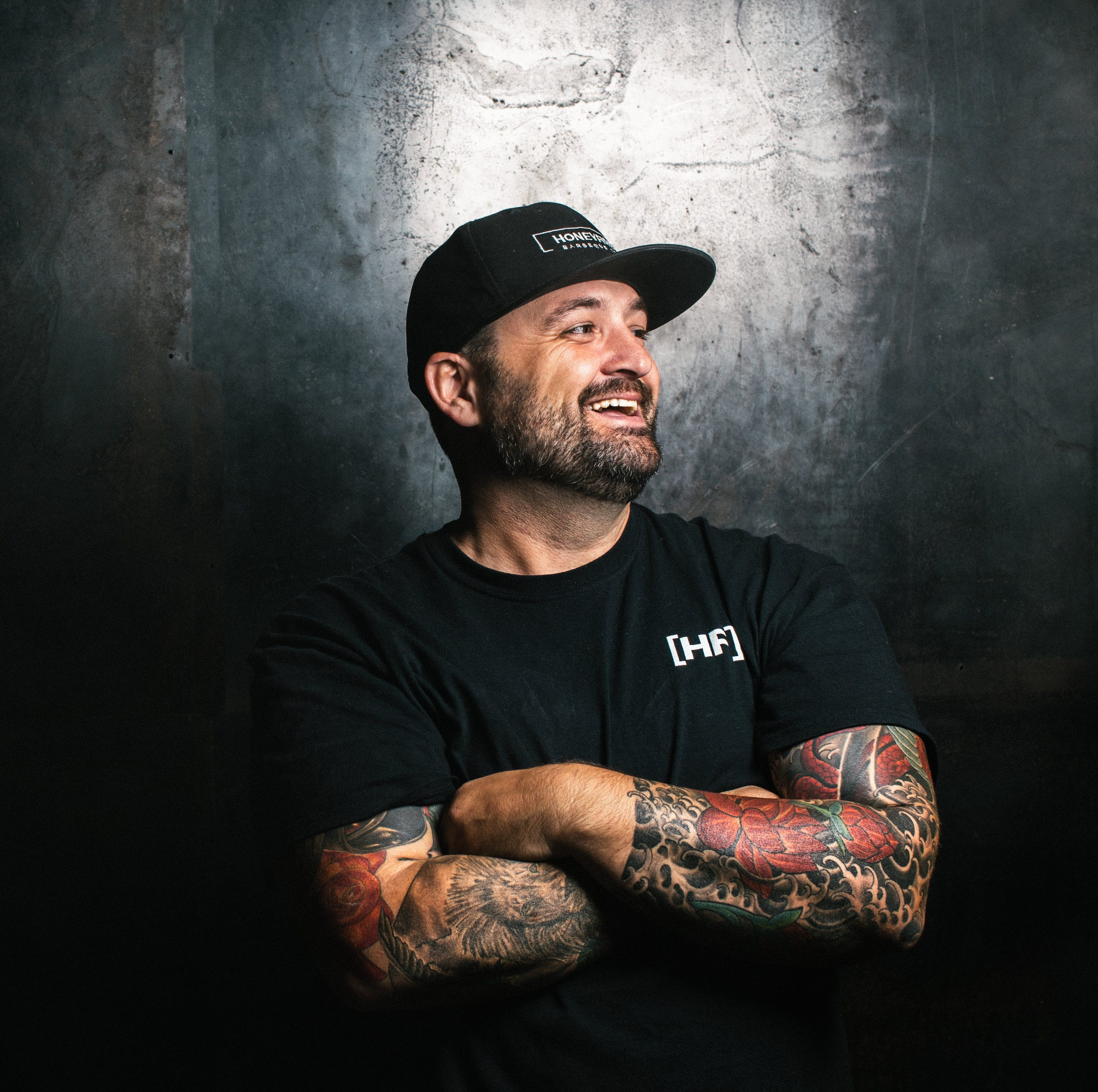 How a 'slight obsession' with eating barbecue turned into a career for  HoneyFire pitmaster