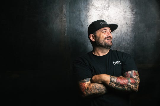 Shane Nasby, founder/pitmaster of HoneyFire Barbeque Co.