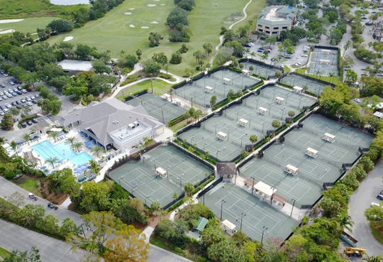 Bonita Bay Club's tennis program is a prime attraction for future residents of The Ronto Group's Omega high rise.