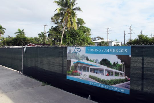 Lake Park Diner is targeted to open this fall on Seventh Avenue North just east of U.S. 41 in Naples.