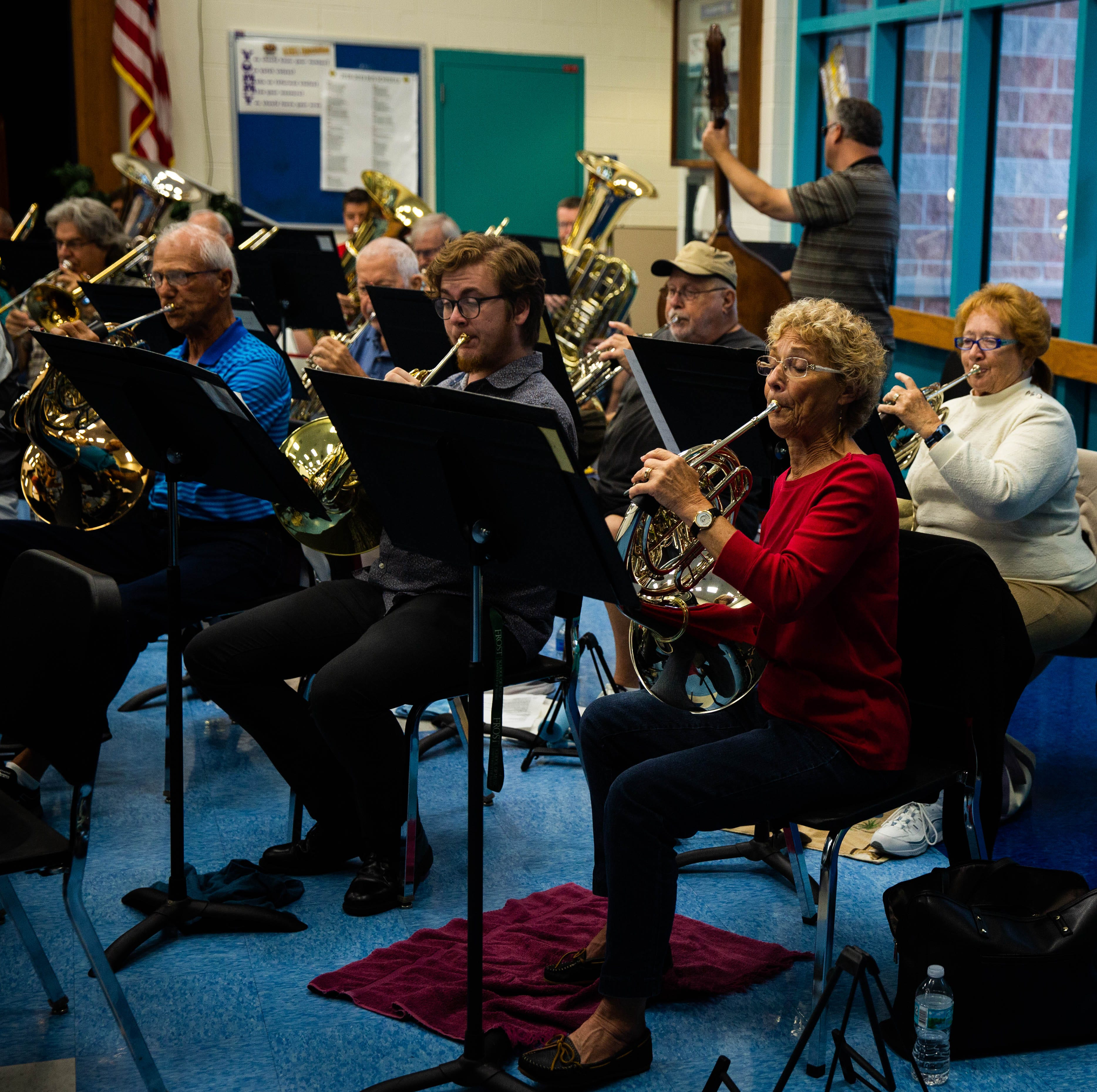 Sounds of silence: Tuesdays turn quiet at Gulfview Middle School as Naples Concert Band vacates