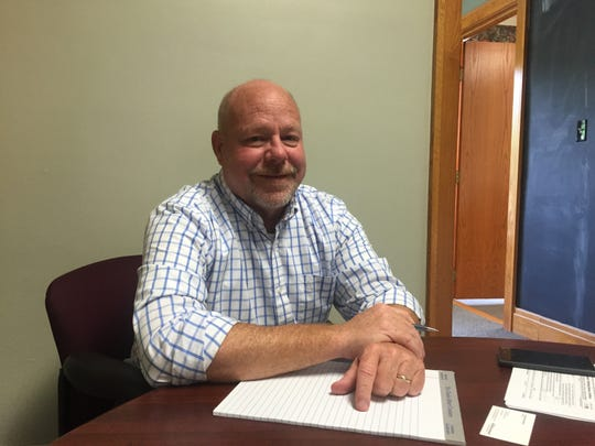 Steve Pyles was named Granville Village manager in June 2016.