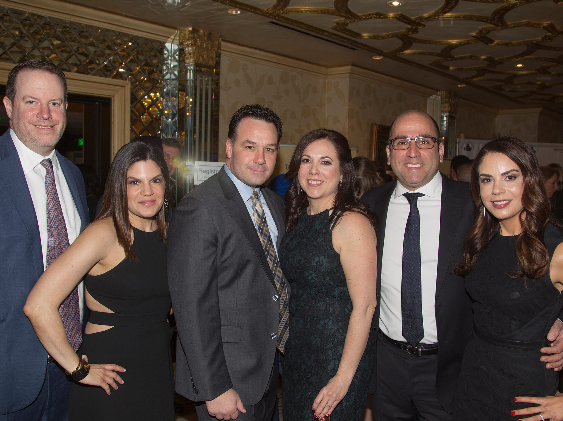 Dave and Tracy Penski, Rob and Debbie Cinqyemani, Diana and Ramin Missaghieh. Upper Saddle River Education Foundation hosted its Town Night Out Gala at Seasons in Washington Twp. 04/06/2019