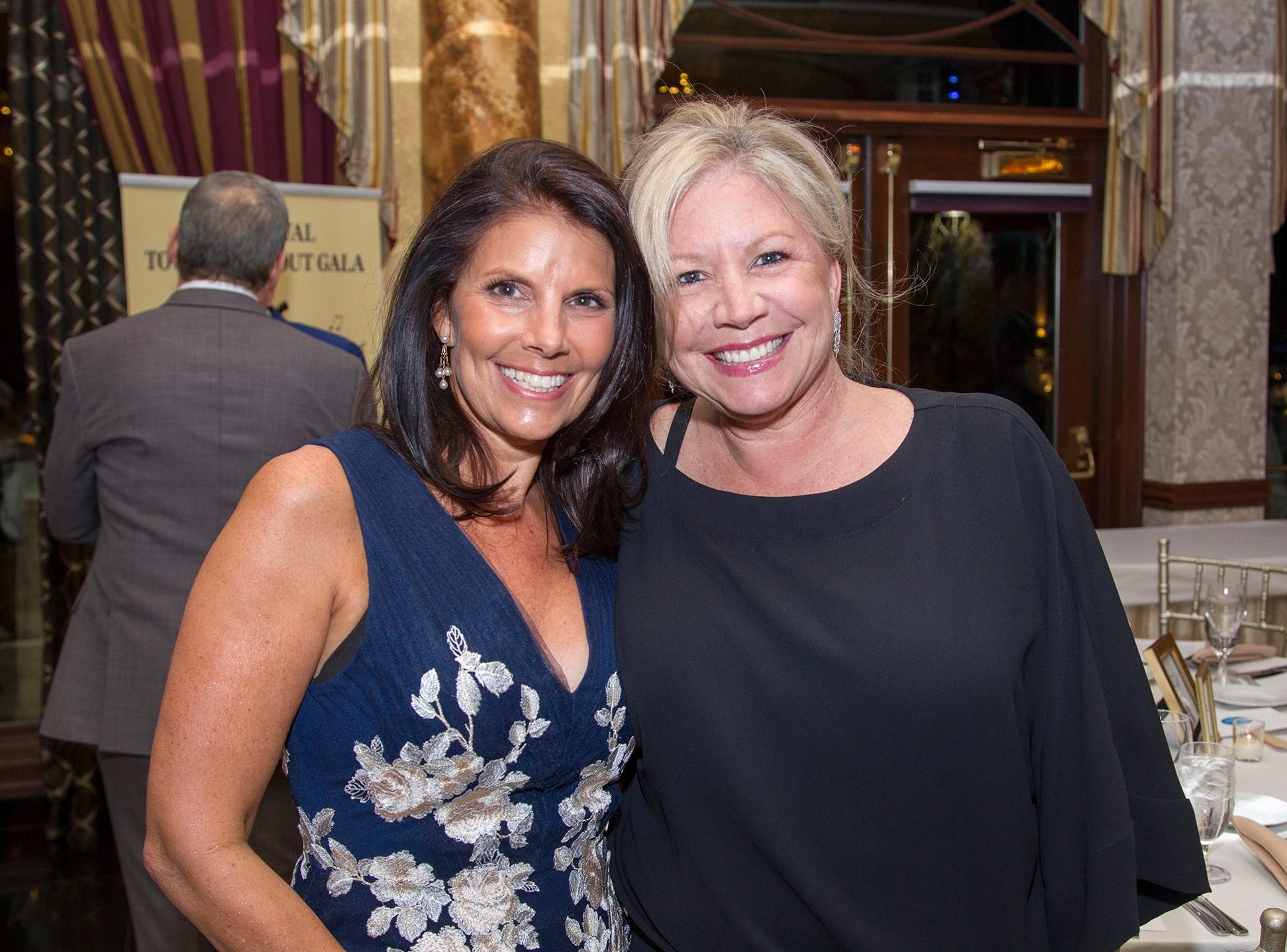 Christine Ferrari, Lois Resnick. Upper Saddle River Education Foundation hosted its Town Night Out Gala at Seasons in Washington Twp. 04/06/2019