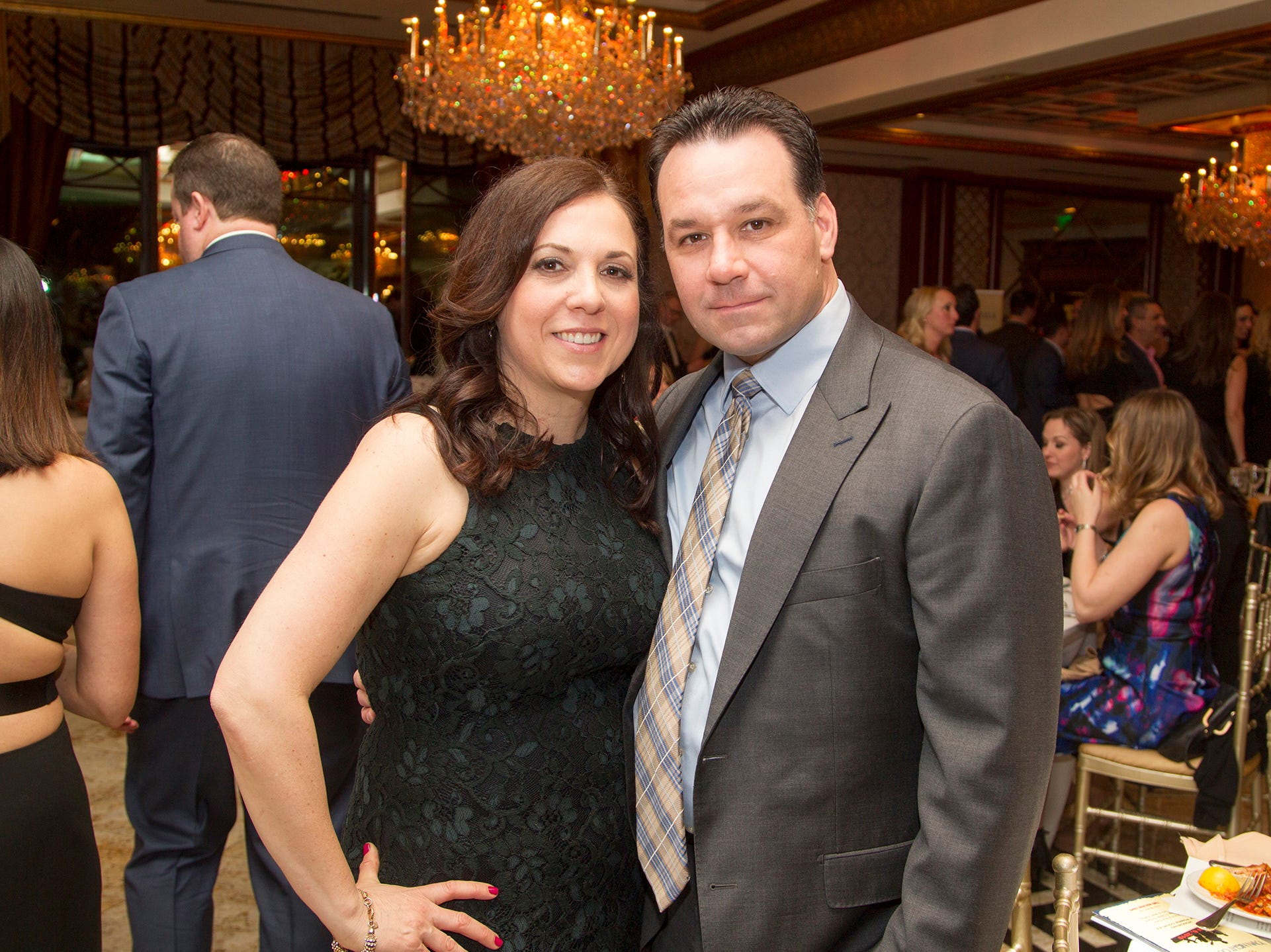 Debbie and ROb Cinquemani. Upper Saddle River Education Foundation hosted its Town Night Out Gala at Seasons in Washington Twp. 04/06/2019