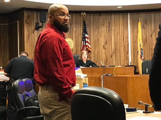 Michael Mitchell in court on Wednesday, April 10, 2019.