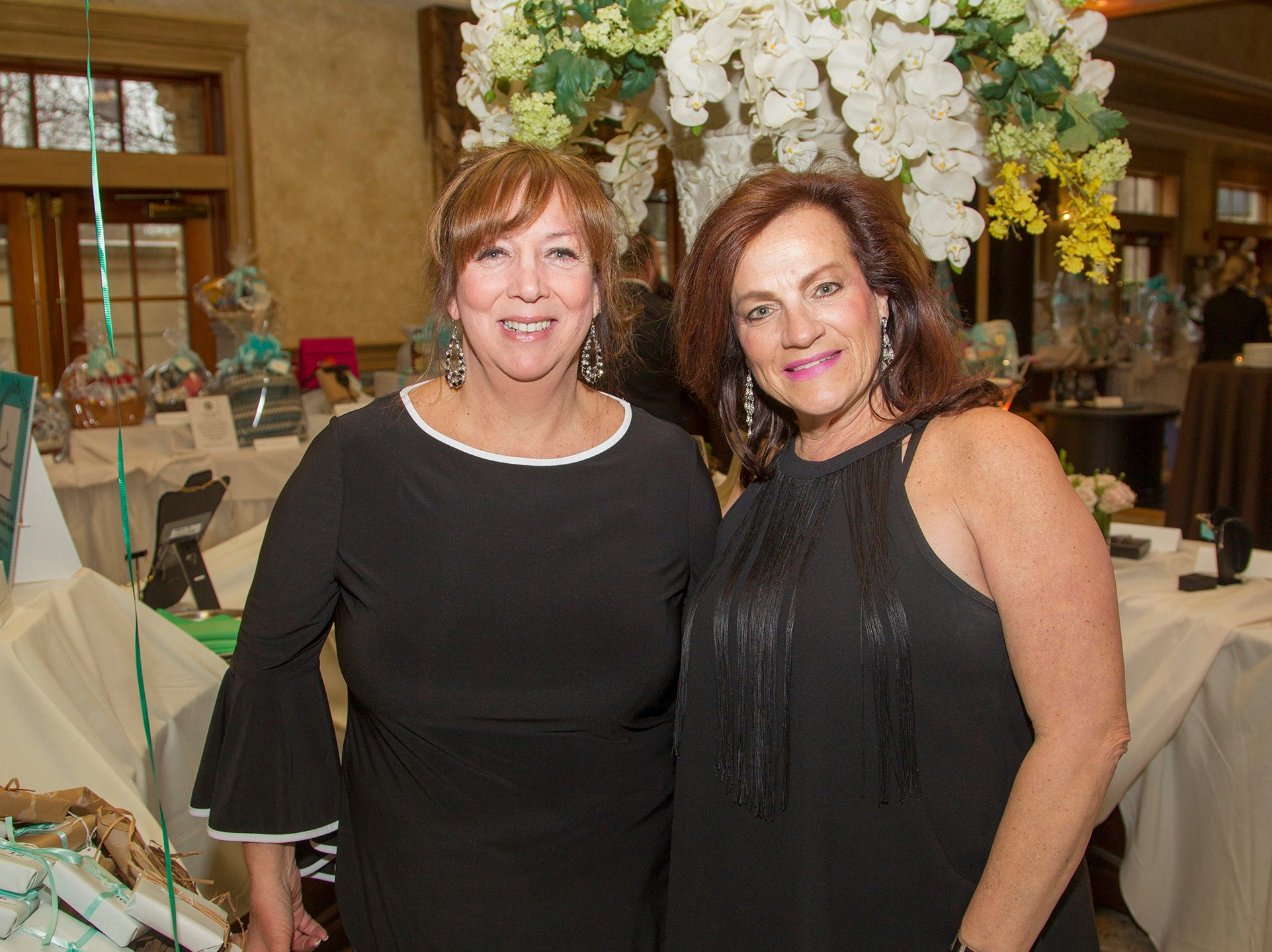 Cathy Maddaloni, Cathleen Michael. Oasis held its 23rd annual Gala of Hope at The Venetian in Garfield. 04/05/2019