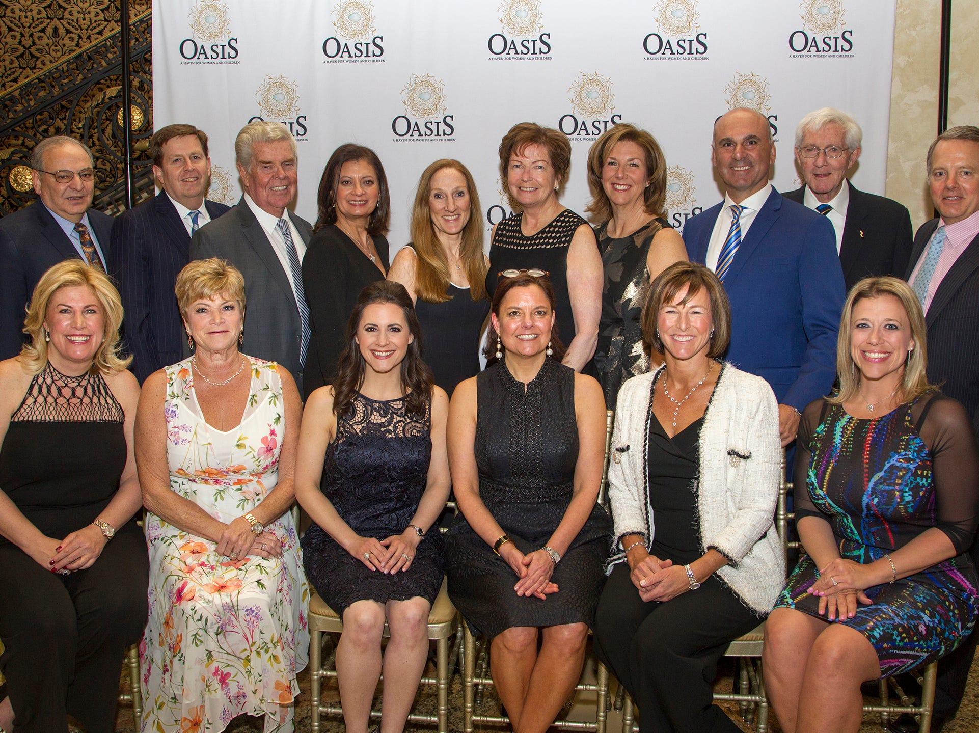 Oasis board members. Oasis held its 23rd annual Gala of Hope at The Venetian in Garfield. 04/05/2019