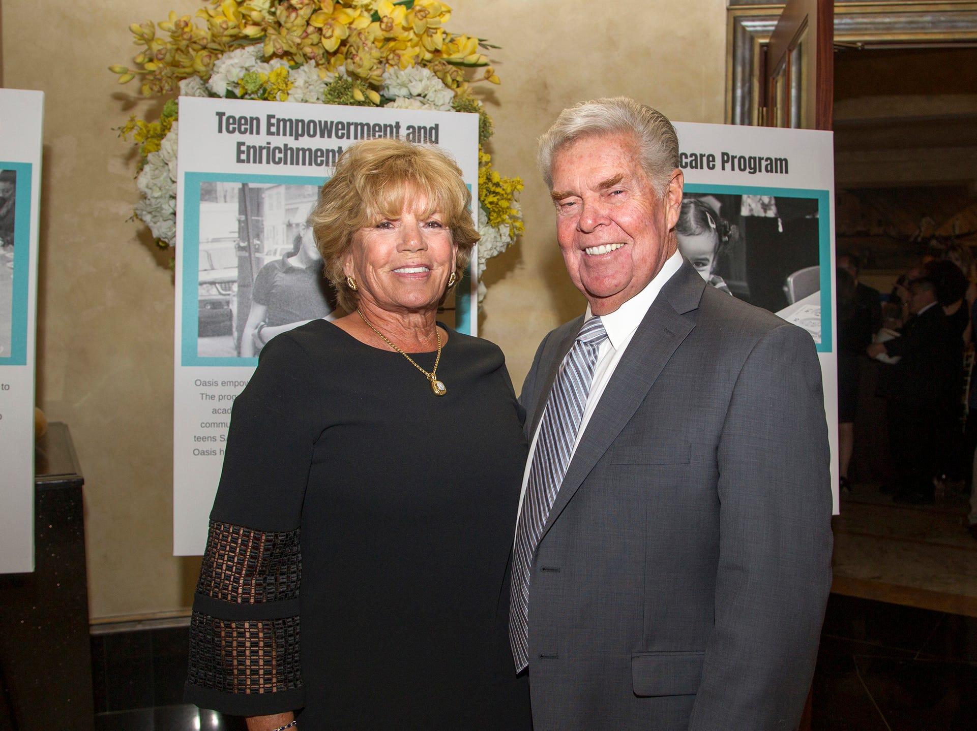 Melaine Barbara, Bill McLoughlin. Oasis held its 23rd annual Gala of Hope at The Venetian in Garfield. 04/05/2019