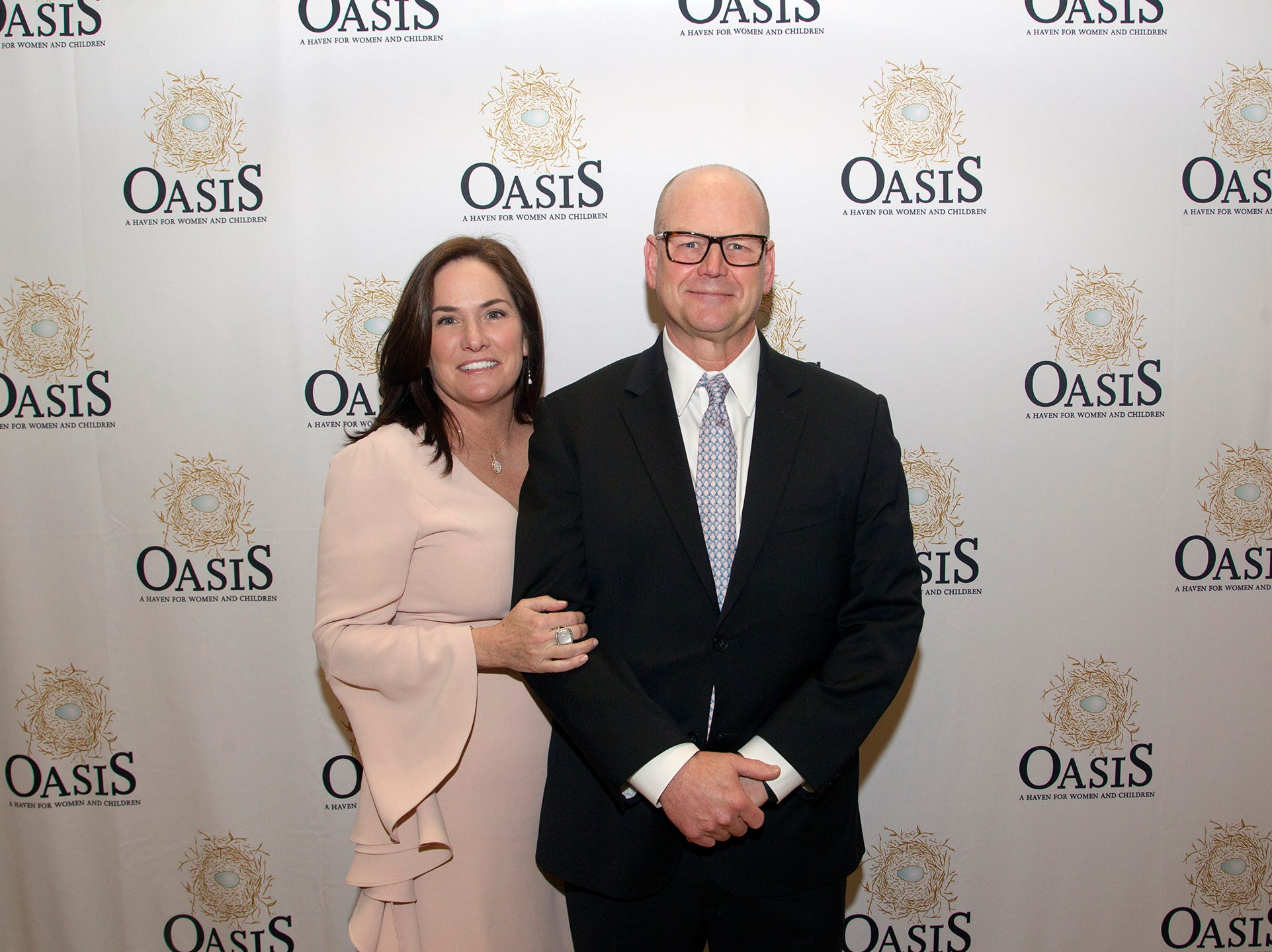 Kelly and Greg Larson. Oasis held its 23rd annual Gala of Hope at The Venetian in Garfield. 04/05/2019
