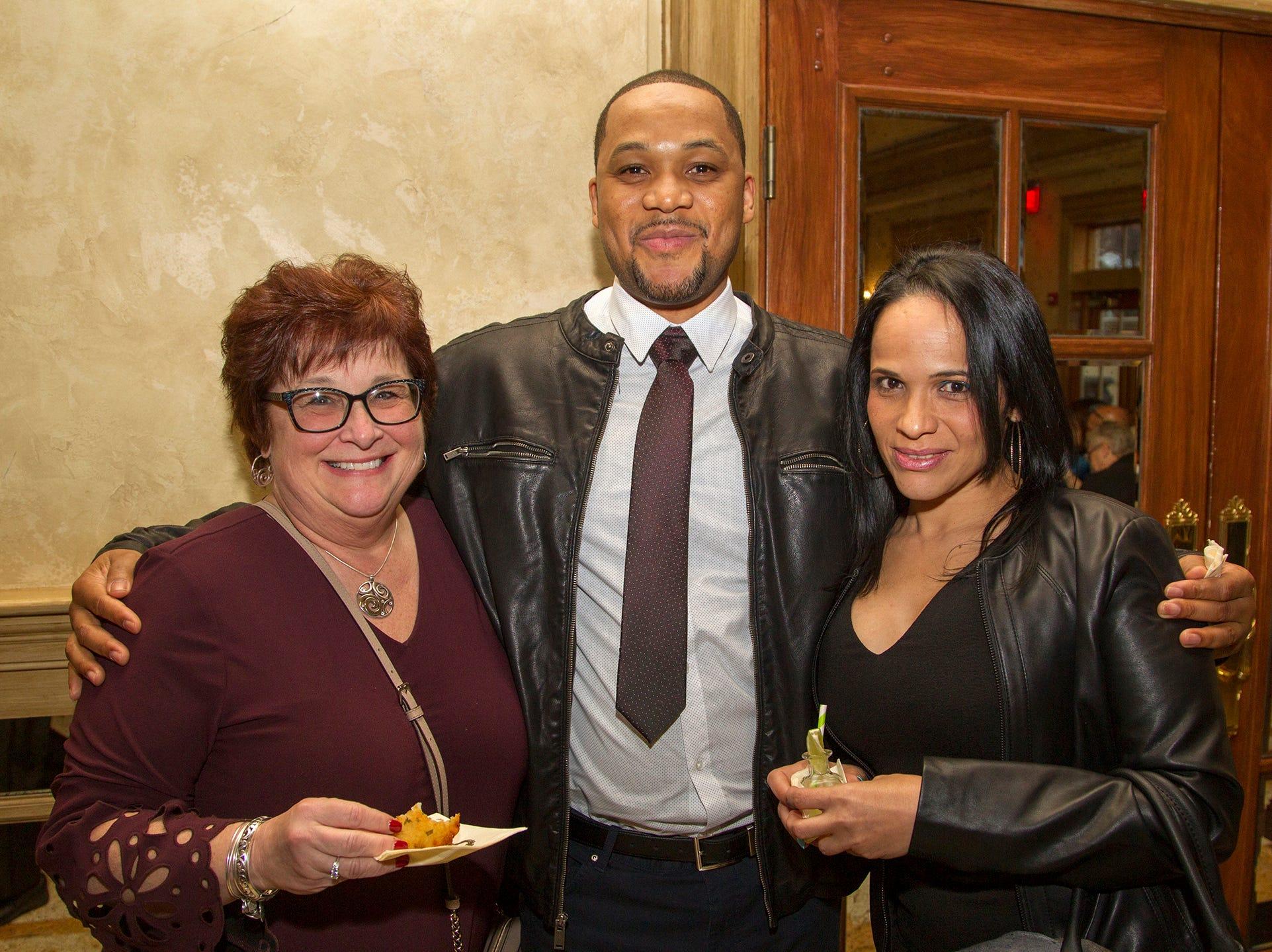 Gail Johnson, Orlando Daron, Ana Geneo. Oasis held its 23rd annual Gala of Hope at The Venetian in Garfield. 04/05/2019