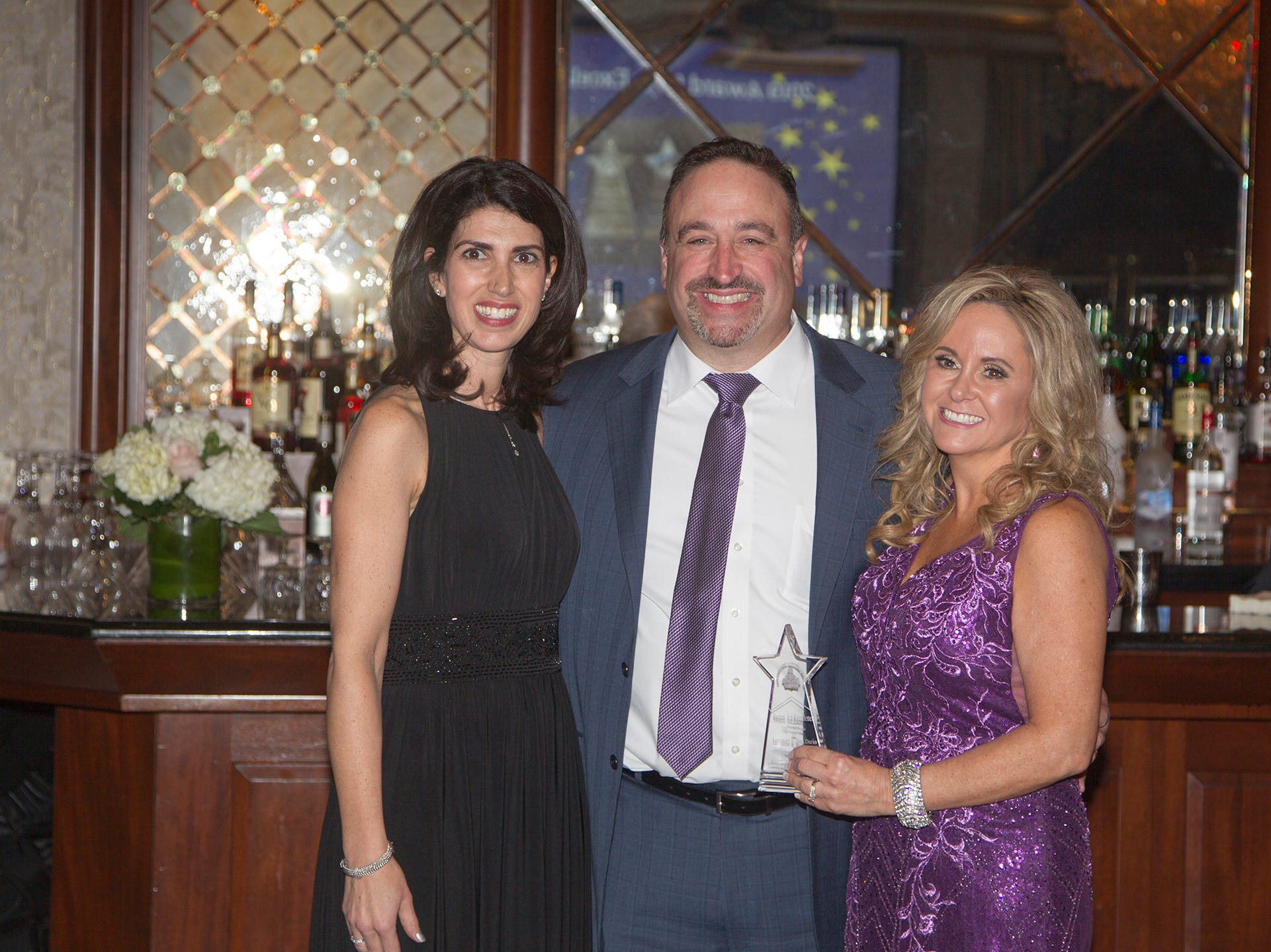 Karen Mueller, Ron and Lorraine Dario. Upper Saddle River Education Foundation hosted its Town Night Out Gala at Seasons in Washington Twp. 04/06/2019