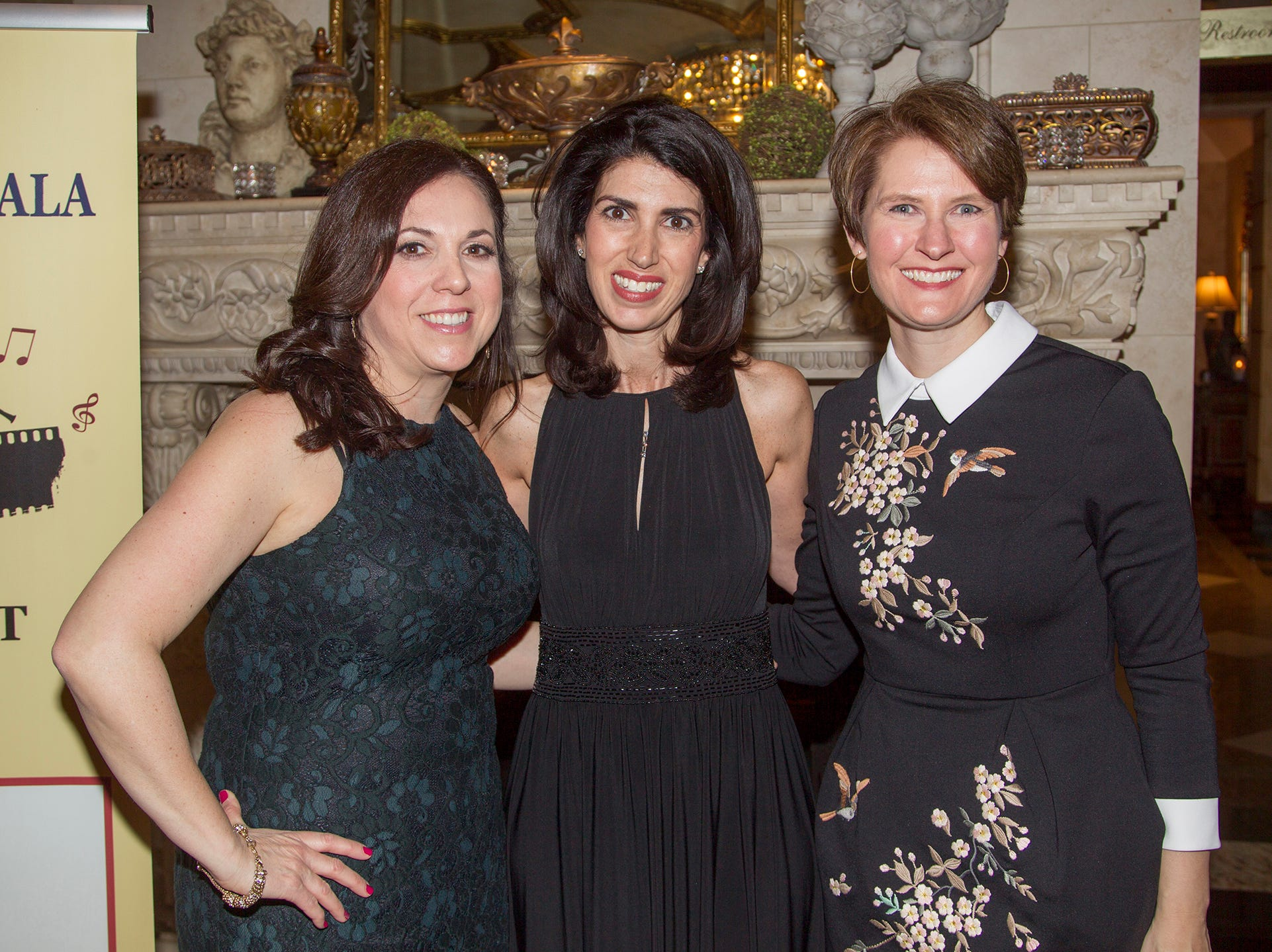 Debbie Cinquemani, Karen Mueller, Jay Weinberg. Upper Saddle River Education Foundation hosted its Town Night Out Gala at Seasons in Washington Twp. 04/06/2019