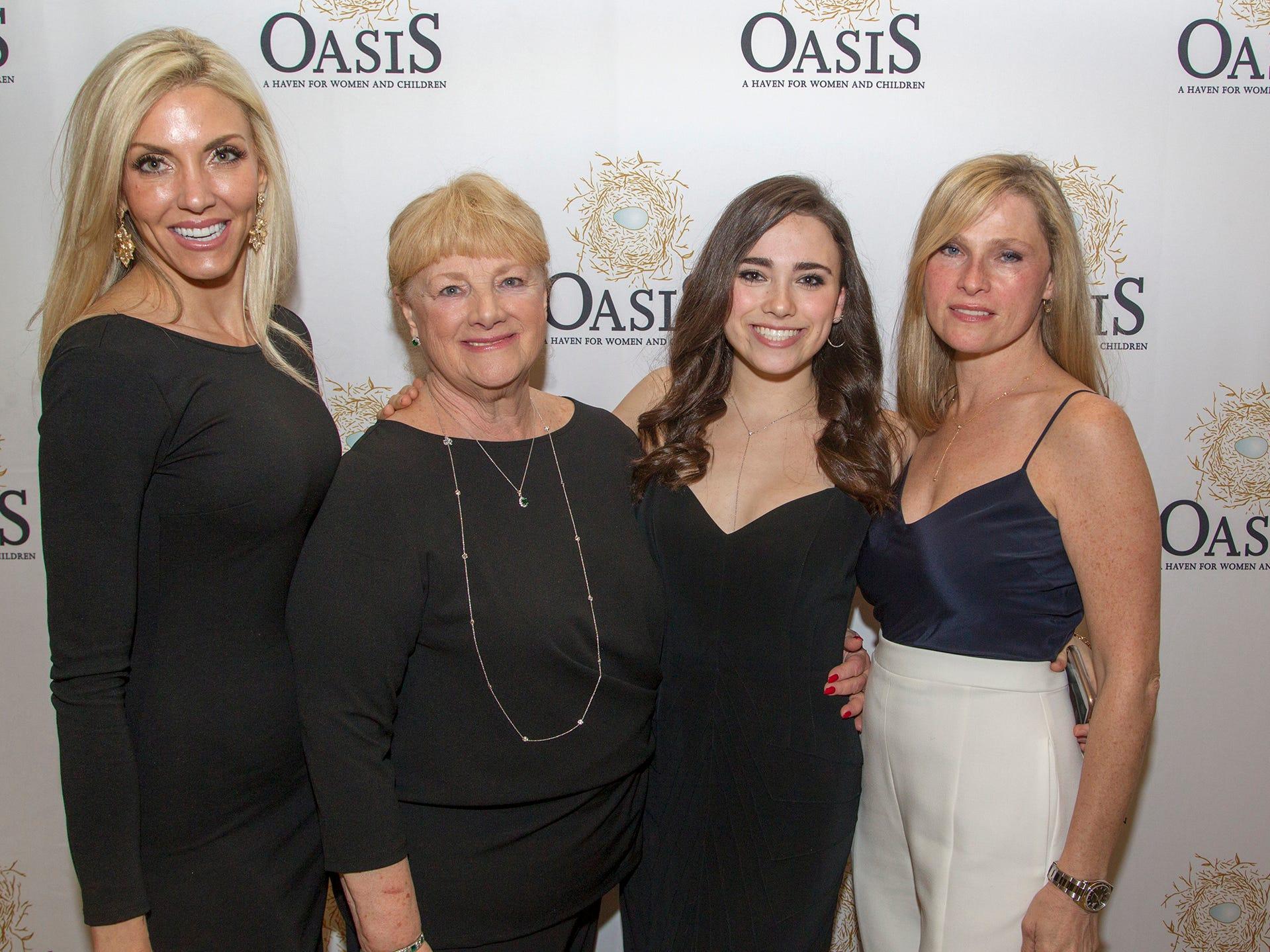Michele Taglia, Carol Lukacs, Jordan and Kristen LoPresti. Oasis held its 23rd annual Gala of Hope at The Venetian in Garfield. 04/05/2019