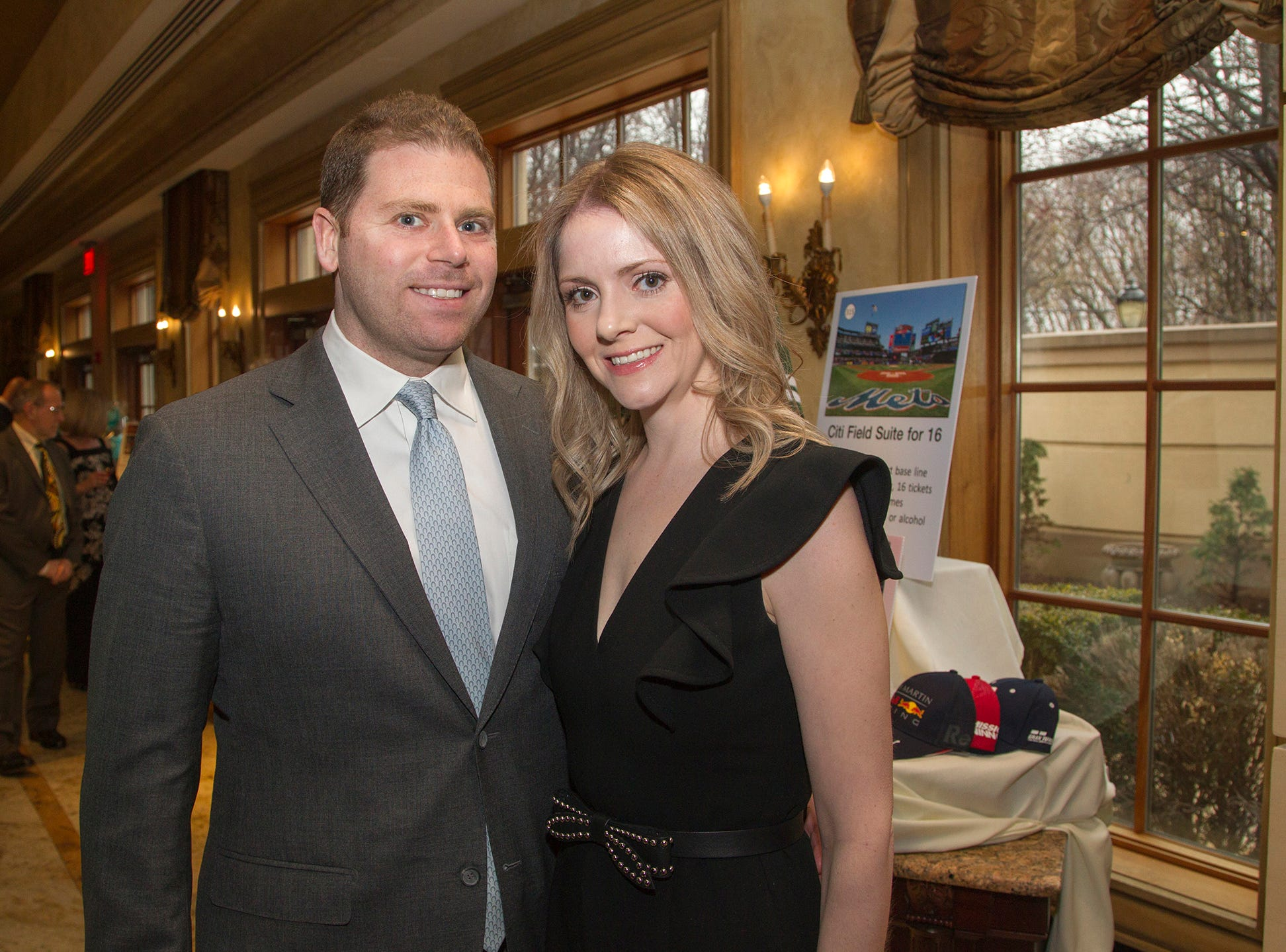 Eric and Jenny Udoff. Oasis held its 23rd annual Gala of Hope at The Venetian in Garfield. 04/05/2019