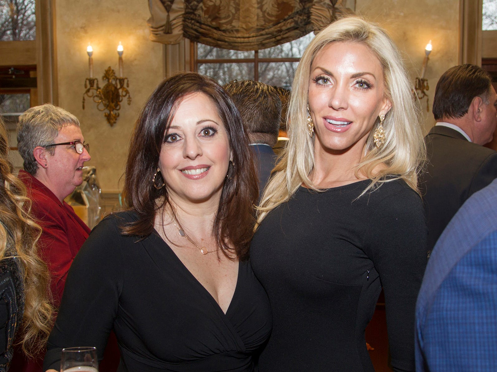 Michele Taglia, Barbara Hennessy. Oasis held its 23rd annual Gala of Hope at The Venetian in Garfield. 04/05/2019