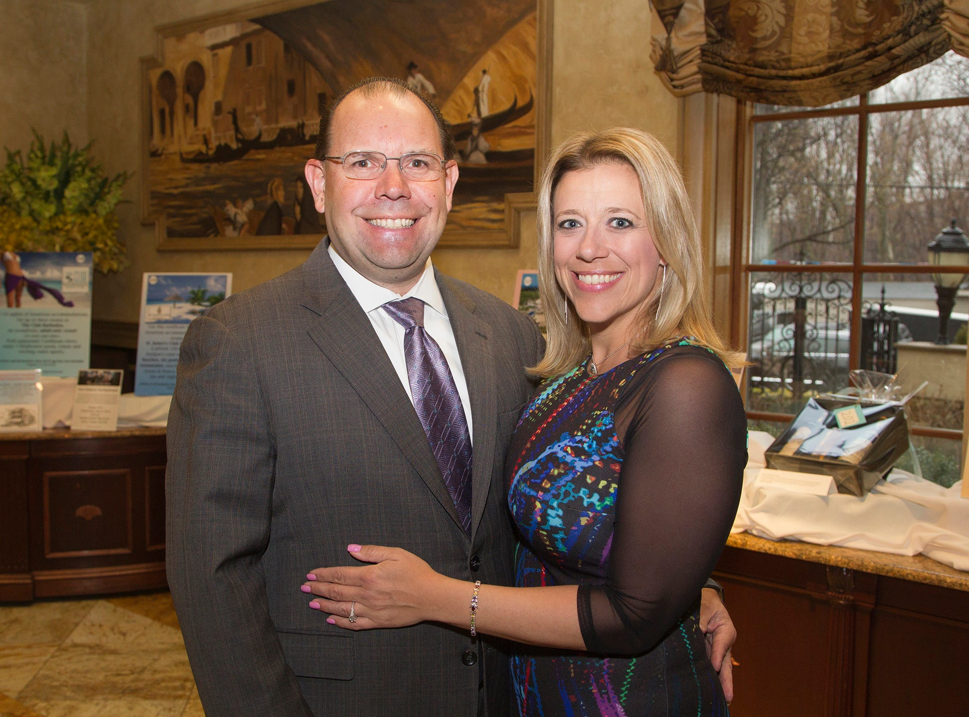 Mike Shannon, Keri Fleming. Oasis held its 23rd annual Gala of Hope at The Venetian in Garfield. 04/05/2019