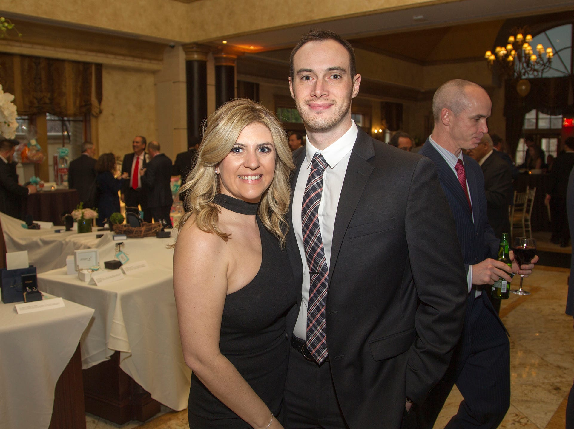 Kaitlyn and Michael Funtsch. Oasis held its 23rd annual Gala of Hope at The Venetian in Garfield. 04/05/2019