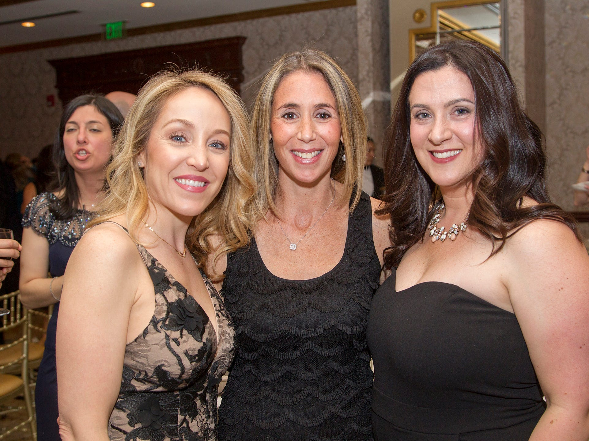 Renee Buzzelli, Marcy Nanus, Jennifer Adamec. Upper Saddle River Education Foundation hosted its Town Night Out Gala at Seasons in Washington Twp. 04/06/2019
