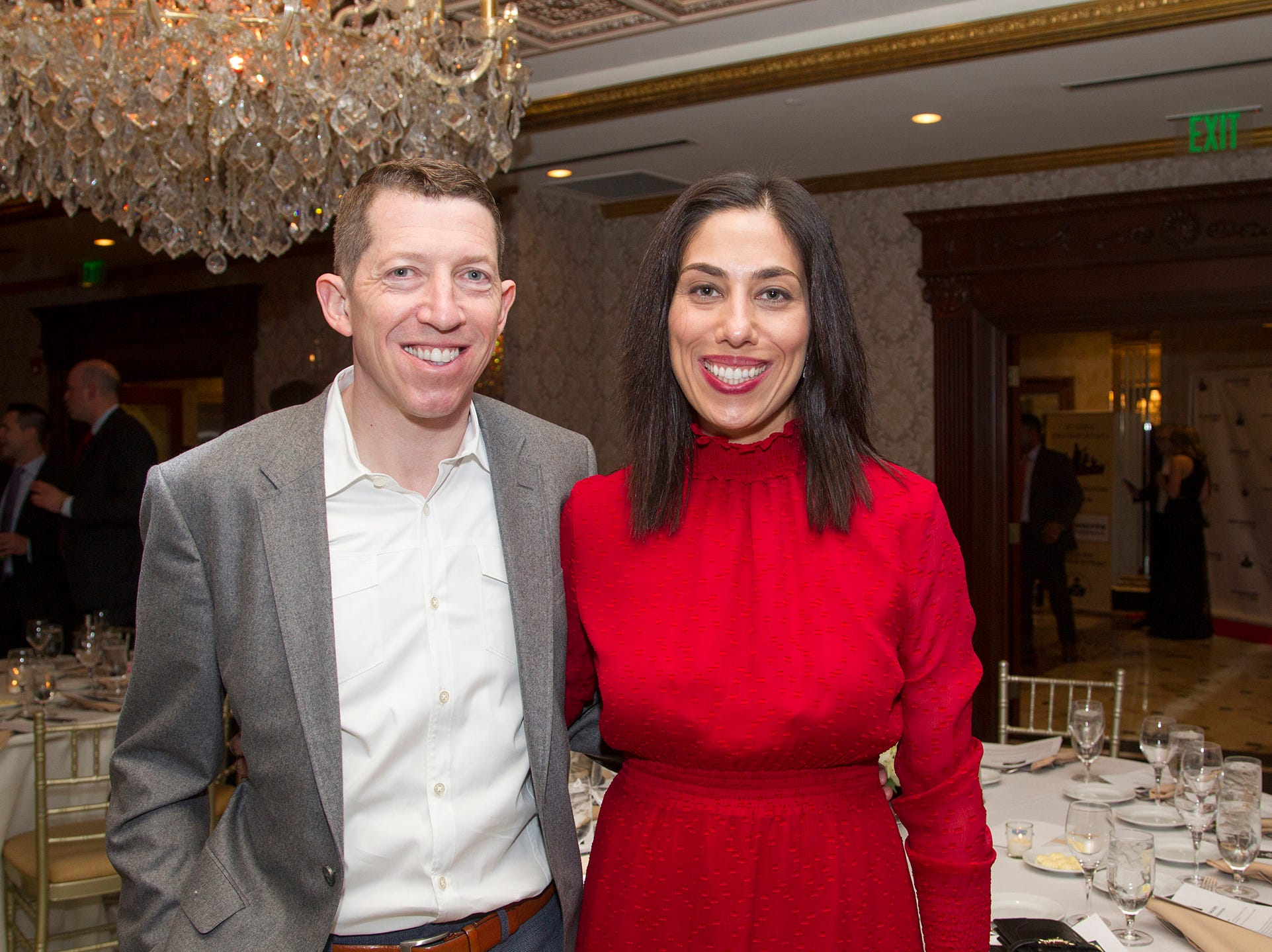 Adam and Yasmin Clark. Upper Saddle River Education Foundation hosted its Town Night Out Gala at Seasons in Washington Twp. 04/06/2019