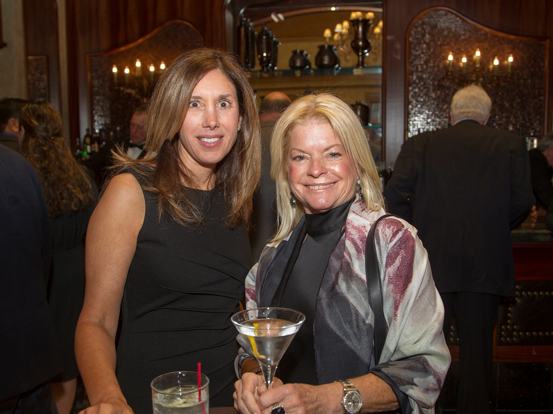 Ellen Hartgers, Cynthia Alecci. Oasis held its 23rd annual Gala of Hope at The Venetian in Garfield. 04/05/2019