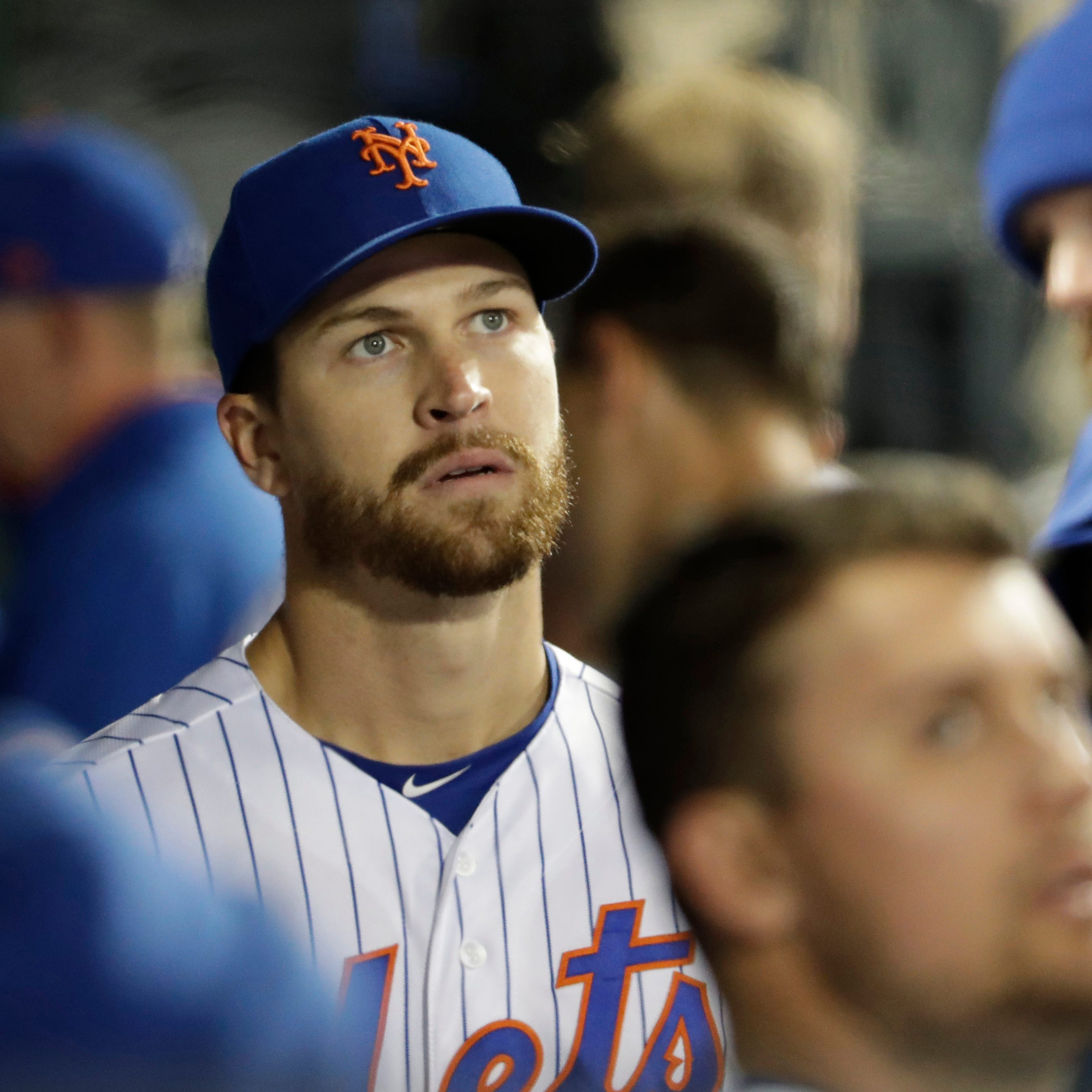 Here's why the Mets' Jacob deGrom played catch before his MRI
